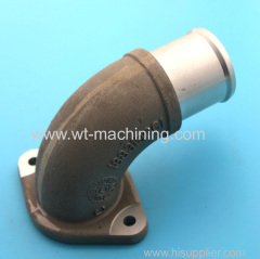 Aluminium casting auto exhaust parts