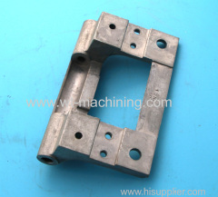 Aluminium machinery hinge parts