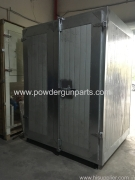 Electric Powder Coating Oven Exporting to Europe