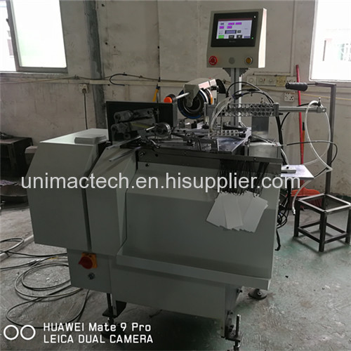 Full automatic Jean paper tag threader machine