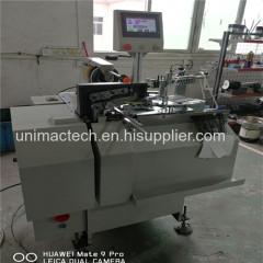 automatic hang tag threading knotting machine