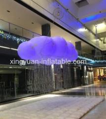 large led inflatable cloud for decoration