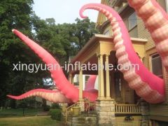 giant inflatable octopus tentacle for advertising