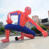 Advertising giant inflatable spiderman