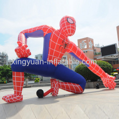 Giant spiderman inflatable model for advertising