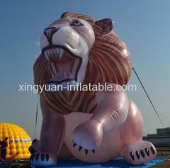 Large model lion inflatable advertising