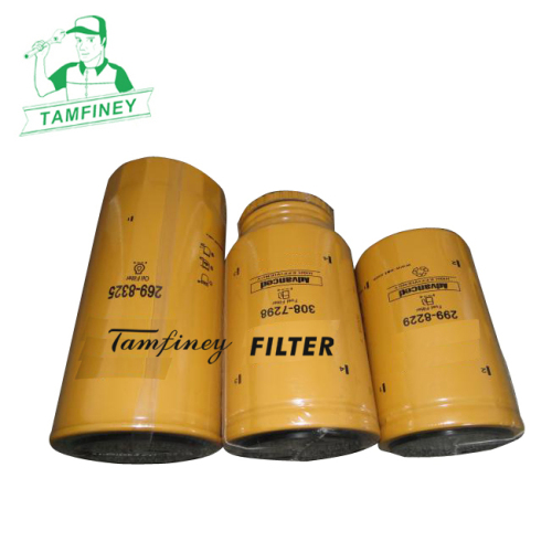 Engine oil filter kits for cat 269-8325 308-7298 299-8229 2698325 3087298 2998229 and 2654A111 2656F853 2656F843