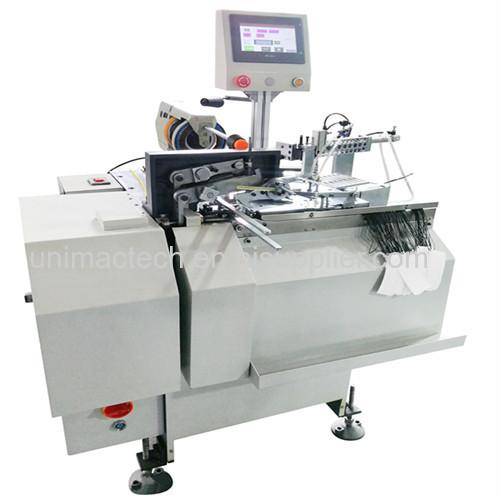 automatic clothing tag threading knotting machine