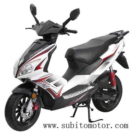 Speedjet R 50cc scooter 2T Liquid Cool gas scooters EEC 125CC