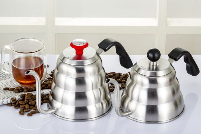 Goose Neck Stainless Steel Coffee Kettle Induction