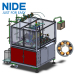 Four working stations Brushless motor stator winding machine for needle inslot winding