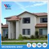 Cold formed light steel villa house prefab house