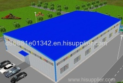 Prefabricated Camp Steel Warehouses