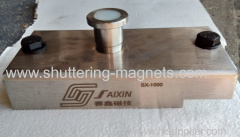 New 1000kgs magnet box precast concrete magnet box shuttering magnets permanent magnets