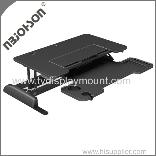 Aluminum LCD TV Desk Mount Bracket for Six Monitors