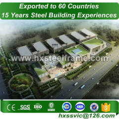 estrutura steel frame formed structural steel buildings outdoor to Iraq market