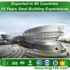 Structural Building and steel building construction with GB code sale to Asia