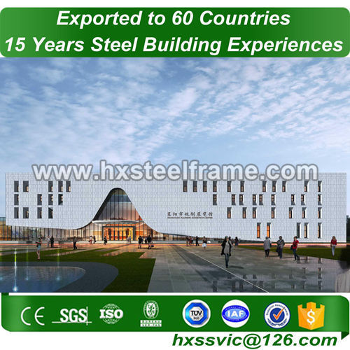 Pre-engineered building and steel building construction with good price