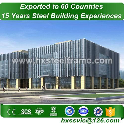 Pre-engineered steel building and steel building construction outdoor