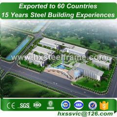 fabrication of structural steel work formed metal buildins multi-story