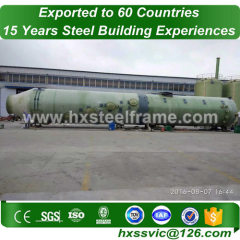 frame steel formed metalbuildings with S355JR steel hot sale in Buenos Aires
