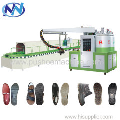 new pu shoe injection machine for Uzbekistan