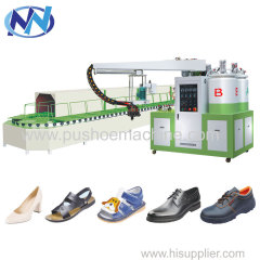 PU Double density shoe-making equipment