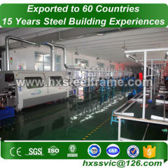 industrial storage warehouse and Prefab Steel workshop outdoor sale to Niamey