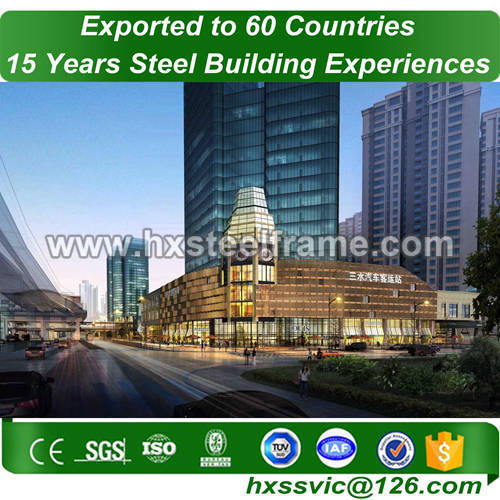 pre engineered steel structure and construction steel frame to Liberia market
