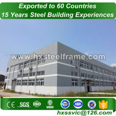 large storage building kits made of steelstruct good price export to Canada
