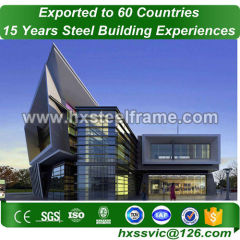 commercial steel frame buildings and commercial steel buildings at La Paz area