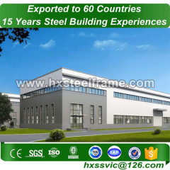 large storage buildings made of light gauge metal anti-corrosion sale to Oman