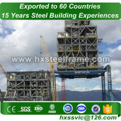 precision metal fabricating and construction steel frame deftly erected