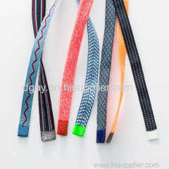 Polyester Nylon Yarn Flat Stripe