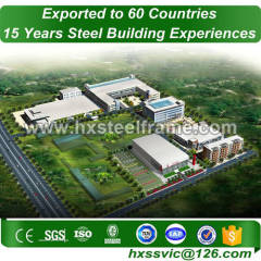 commerical building and commercial steel buildings fireproof export to Managua