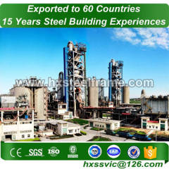 steel beam structure and construction steel frame produce for Dubai buyer