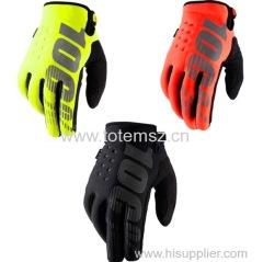 100% cycling long gloves