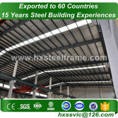 pre engineered workshop and heavy steel workshop of two story provide to Iran