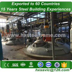 Pre-engineered Steel Structure Warehouse and heavy steel workshop