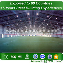 Pre-engineered warehouse and heavy steel workshop recyclable sale to Ankara