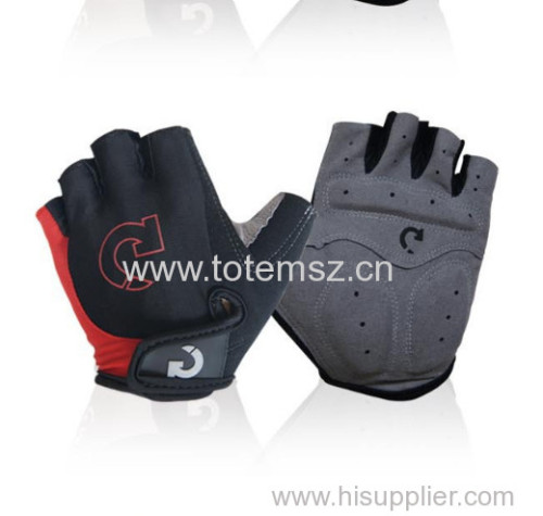 Shockproof Outdoor Sports Half Finger cycling Short Gloves