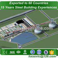 Pre-engineered Workshop and heavy steel workshop lightweight sale to Mogadishu