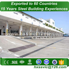 pre manufactured building and steel building construction best-selling