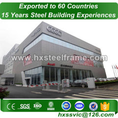 prefab metal building kits and steel building construction large-Span