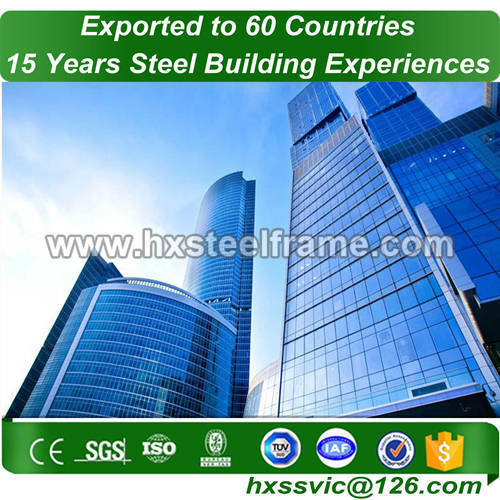 steel structure frame and Pre-engineered Steel Frame for purchaser from Africa
