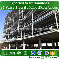 office building made of primary steel element long-span at Conakry area