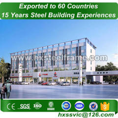 pre fab buildings and steel building construction with CE Mark