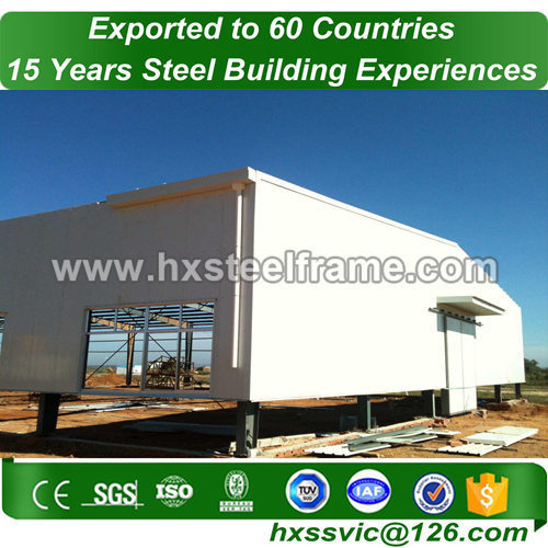 Prefab Steel Structure workshop made of light metal framing multi-functional
