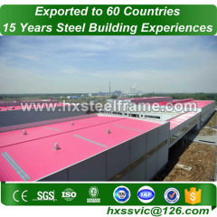 Steel Welded H Section and Pre-engineered Steel Frame to Afghanistan customer