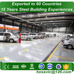 prefab storage buildings and Industrial Structural Steel Workshop with ISO